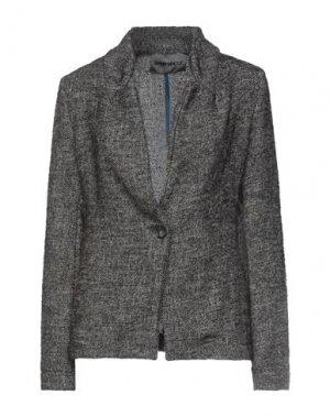 Пиджак BRAND UNIQUE. Цвет: темно-коричневый