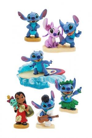 Лило и Стич, набор фигурок Disney. Цвет: мультицвет, синий