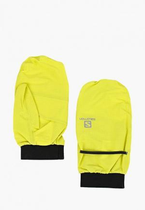 Варежки Salomon BONATTI WP MITTEN U. Цвет: желтый