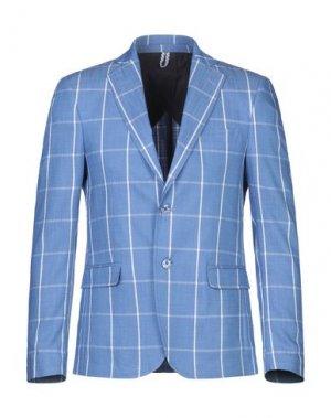 Пиджак MASSIMO REBECCHI. Цвет: лазурный