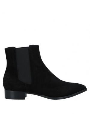 Полусапоги и высокие ботинки ALBERTO FERMANI. Цвет: черный