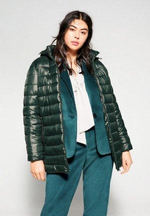 Куртка утепленная Violeta by Mango - RISE. Цвет: зеленый