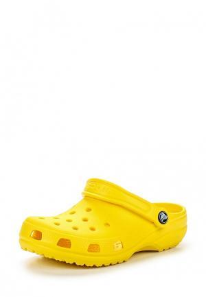 Сабо Crocs Classic Clog K. Цвет: желтый