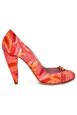 Туфли Gerardina di Maggio. Цвет: малиновый
