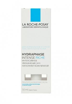 Крем для лица La Roche-Posay HYDRAPHASE INTENSE RICHE Интенсивное увлажняющее средство 50 мл. Цвет: белый