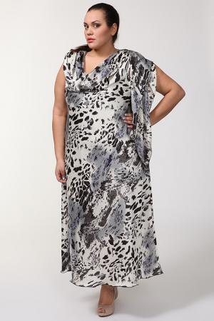 Свободное платье с воротом Качели Alain Weiz. Цвет: цветной