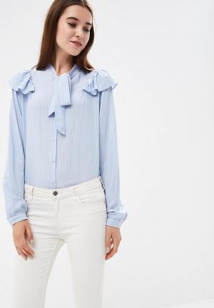Блуза Colins Colin's. Цвет: голубой