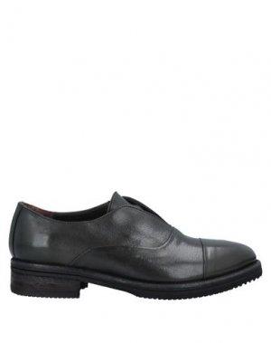 Обувь на шнурках CALPIERRE. Цвет: темно-зеленый