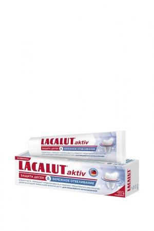 ЛАКАЛЮТ зубная паста АКТИВ защ LACALUT. Цвет: белый