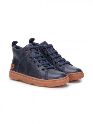 Ботинки на шнуровке Camper Kids. Цвет: синий