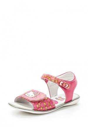 Сандалии Hello Kitty. Цвет: розовый