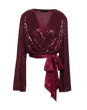 Блузка JENNY PACKHAM. Цвет: красно-коричневый