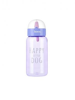 Пластитковая бутылка CP6 Purple Hoco. Цвет: фиолетовый