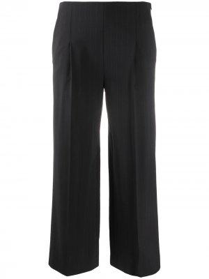 Укороченные брюки широкого кроя Chalayan. Цвет: синий
