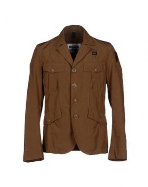 Пиджак BLAUER. Цвет: хаки