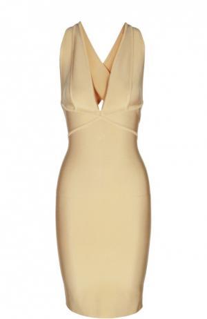 Платье Herve L.Leroux. Цвет: кремовый