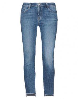 Джинсовые брюки J BRAND. Цвет: синий
