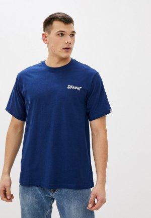 Футболка Element ALCOVE SS. Цвет: синий