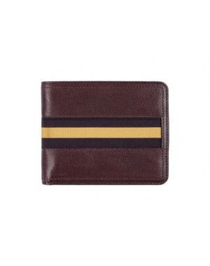 Бумажник DRIES VAN NOTEN. Цвет: красно-коричневый