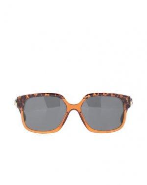 Солнечные очки CELINE. Цвет: коричневый