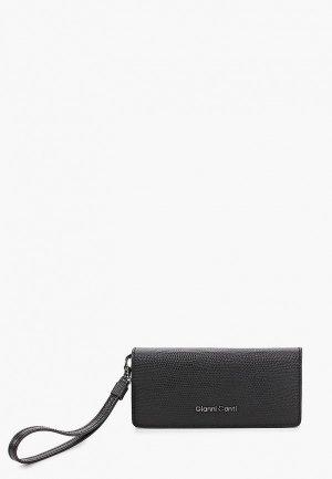 Кошелек Gianni Conti. Цвет: черный