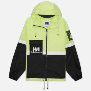 Мужская куртка дождевик YU20 Rain Helly Hansen. Цвет: зелёный