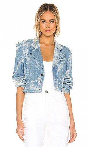 Джинсовая куртка 1980s Divine Heritage. Цвет: синий