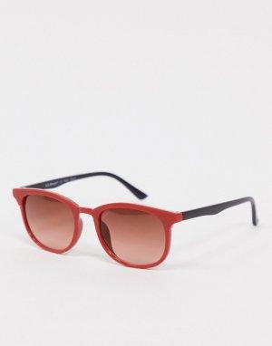 Красные солнцезащитные очки -Красный AJ Morgan
