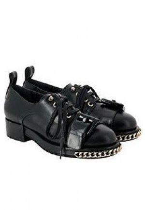 Ботинки No21. Цвет: черный