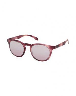Солнечные очки ALSTECA. Цвет: розовато-лиловый
