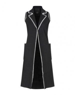 Легкое пальто FRANKIE MORELLO. Цвет: черный