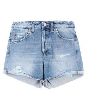 Джинсовые шорты HAIKURE. Цвет: синий