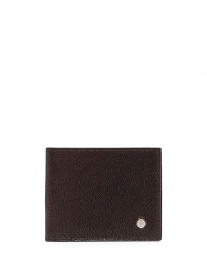 Бумажник с логотипом Orciani. Цвет: коричневый