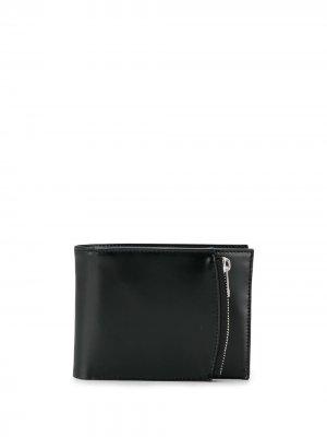 Маленький бумажник Maison Margiela. Цвет: черный