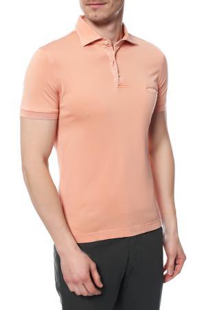 Поло Della Ciana. Цвет: оранжевый