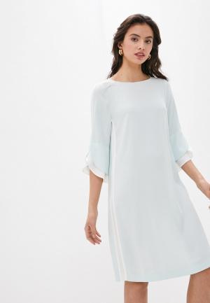 Платье Laurel. Цвет: голубой