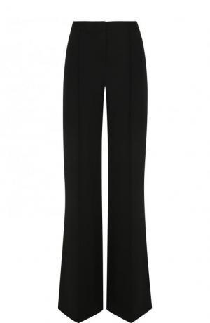 Однотонные расклешенные брюки со стрелками Diane Von Furstenberg. Цвет: черный