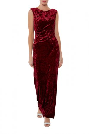 Dress Gina Bacconi. Цвет: burgundy