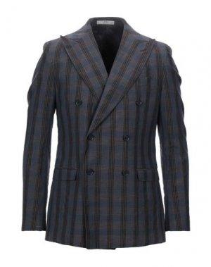 Пиджак CC COLLECTION CORNELIANI. Цвет: свинцово-серый