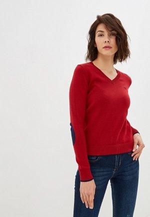 Пуловер Felix Hardy. Цвет: бордовый