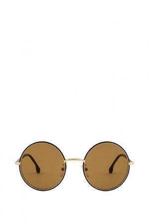 Солнцезащитные очки Paul Smith. Цвет: черный