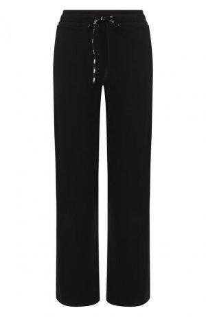 Хлопковые брюки Fendi. Цвет: черный