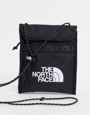 Черная сумка-кошелек через шею Bozer-Черный цвет The North Face