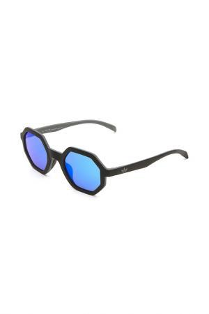 Очки солнцезащитные с линзами adidas. Цвет: 009 070 черный, серый