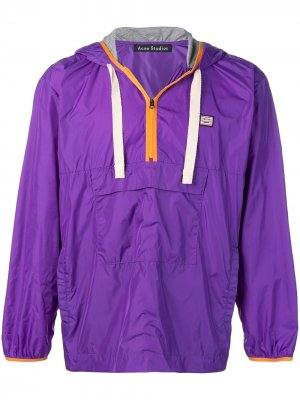 Куртка-анорак Acne Studios. Цвет: фиолетовый