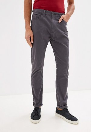 Брюки Dockers SMART SUPREME FLEX JEAN CUT SLIM. Цвет: серый