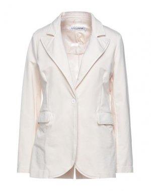 Пиджак EUROPEAN CULTURE. Цвет: бежевый