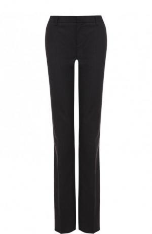 Расклешенные шерстяные брюки со стрелками Tom Ford. Цвет: темно-серый