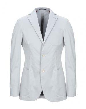 Пиджак ROYAL ROW. Цвет: светло-серый
