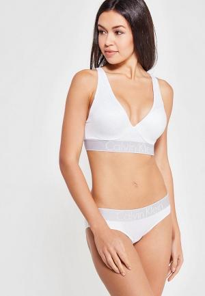 Бюстгальтер Calvin Klein Underwear. Цвет: белый